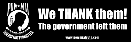 POWMIA we thank them sticker - 500w